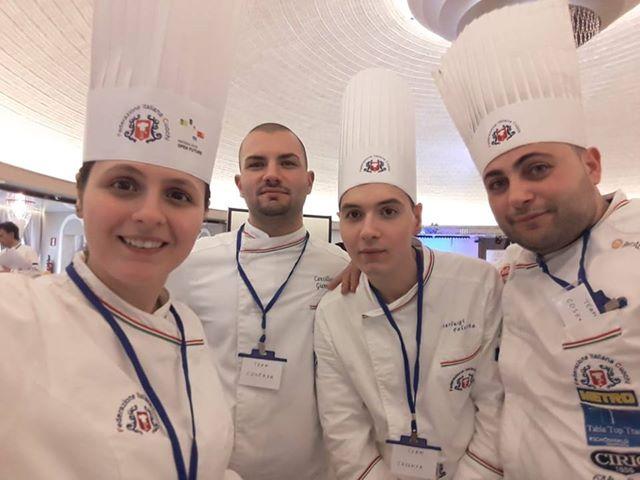Cucina, medaglia di bronzo per quattro cuochi di Cosenza