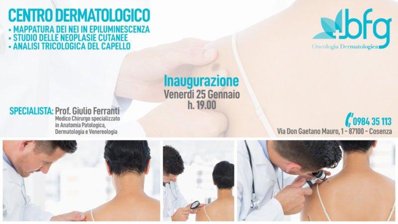 Nuovo Centro Di Dermatologia A Cosenza Ecco Quando Aprira