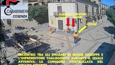 Photo of Santa Domenica Talao, estorsione a un imprenditore: arrestato Bloise