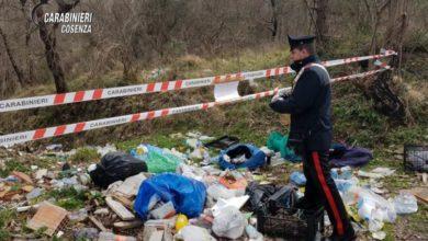 Photo of Cosenza, i carabinieri sequestrano una discarica abusiva