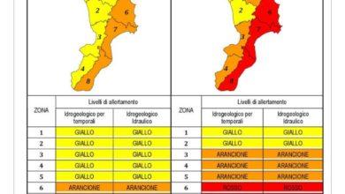 Photo of Allerta meteo rossa in Calabria, ecco le zone più critiche