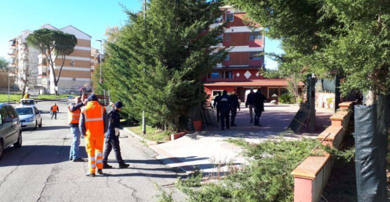 Cosenza, demolito manufatto abusivo di Serra Spiga [FOTO]