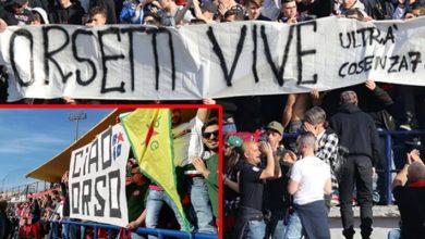 Photo of Gli ultrà del Cosenza ricordano Lorenzo Orsetti, ucciso dall'Isis in Siria