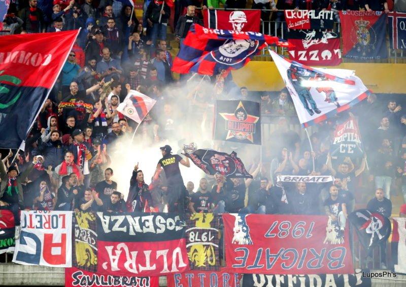 Benevento-Cosenza: la fotogallery della partita del Vigorito