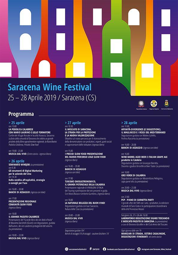 Saracena Wine Festival, ecco il programma della decima edizione