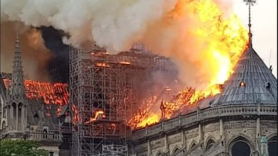 Photo of DAL MONDO | A fuoco la cattedrale di Notre-Dame a Parigi [VIDEO]