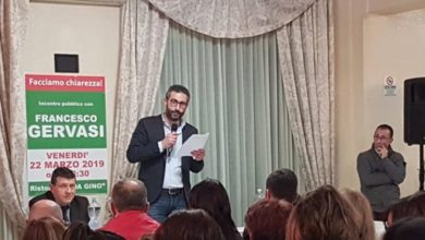 Photo of Mendicino, Gervasi: «Promettiamo il nostro impegno, non posti di lavoro»