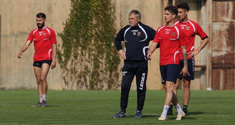 Cosenza, almeno due cambi nella formazione anti-Lecce