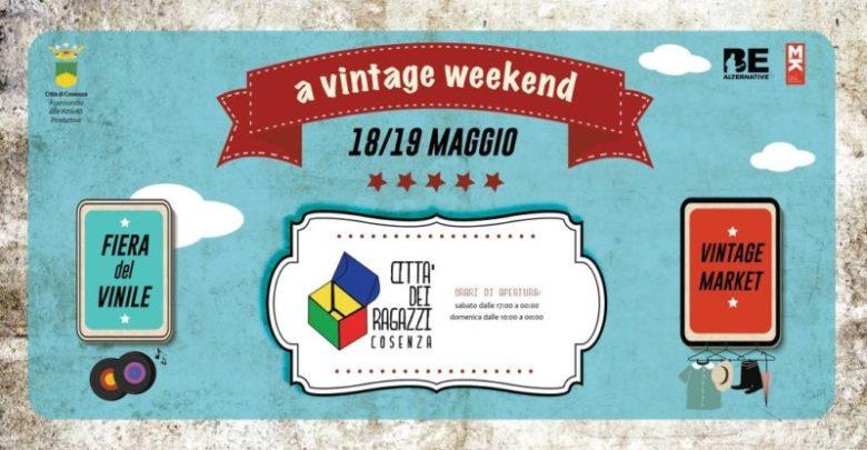Cosenza, nel weekend Fiera del Vinile e Vintage Market