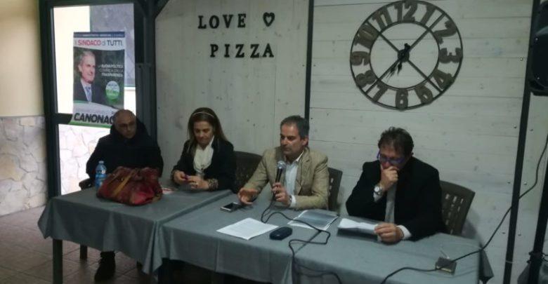 Mendicino, Canonaco incontra i cittadini. «Ecco il programma»