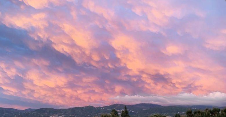 Photo of L'incanto del cielo Monet su Cosenza (FOTO)