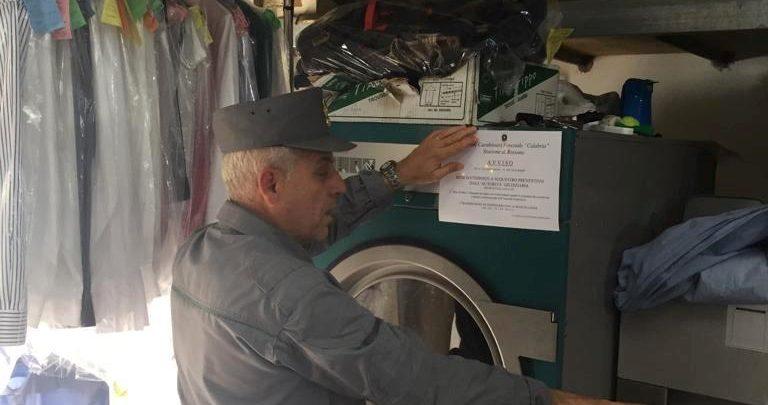 Corigliano Rossano, sequestri e denunce: controlli nelle lavanderie