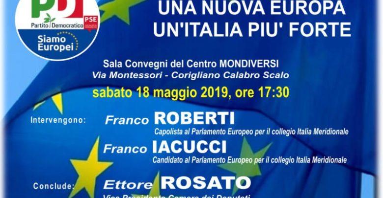 Europee, incontro con l'ex procuratore nazionale antimafia Franco Roberti