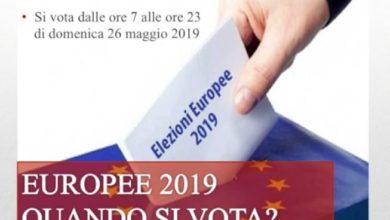 Photo of Europee 2019, la guida al voto per domenica 26 maggio