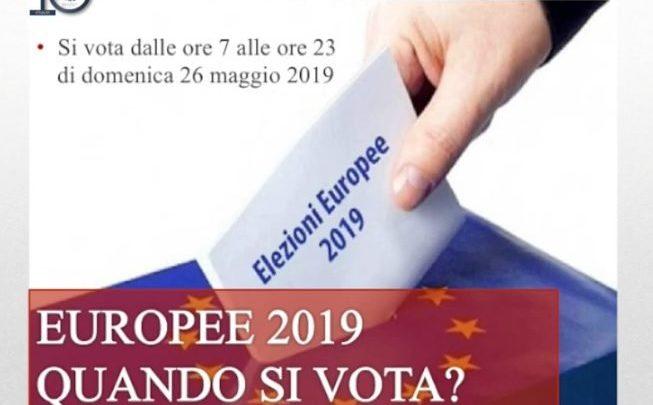 Europee 2019, la guida al voto per domenica 26 maggio