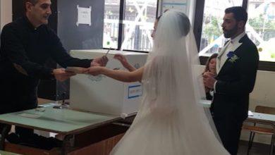 Photo of Dal matrimonio alle urne, ecco la storia di Mimmo e Arianna [FOTO]
