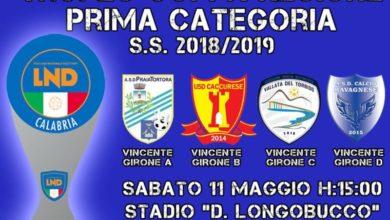 Photo of Supercoppa Prima Cat. domani a Scalea. Il PraiaTortora chiama a raccolta i sostenitori