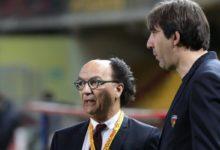 Il presidente Guarascio e il direttore sportivo Trinchera a colloquio