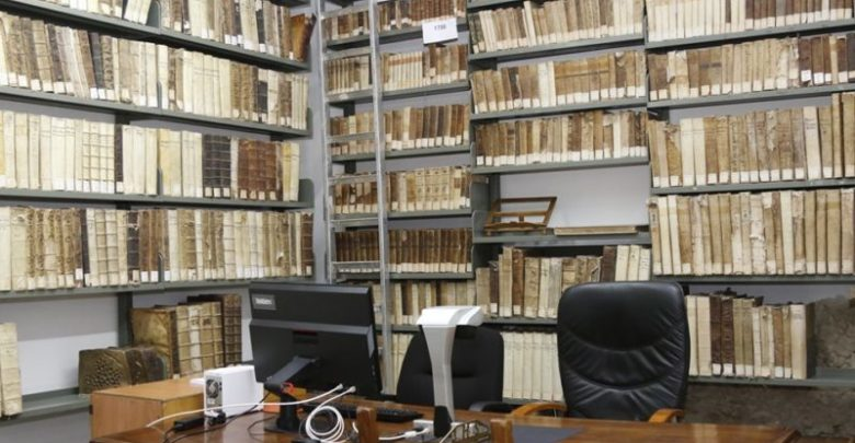 Calabria San Francesco di Assisi biblioteca crocifisso