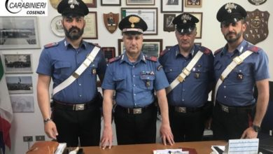 Photo of Estorsione a Spezzano Albanese, i carabinieri arrestano due persone