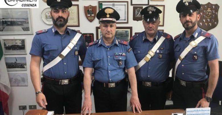 estorsione spezzano albanese arresti carabinieri