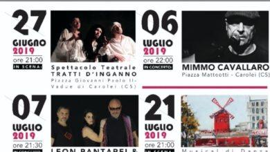 Photo of Dalla musica al teatro, il borgo di Carolei si illumina. Oggi parte il Festival