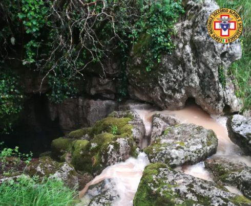 Cerchiara di Calabria, recuperati i 4 speleologi bloccati in una grotta