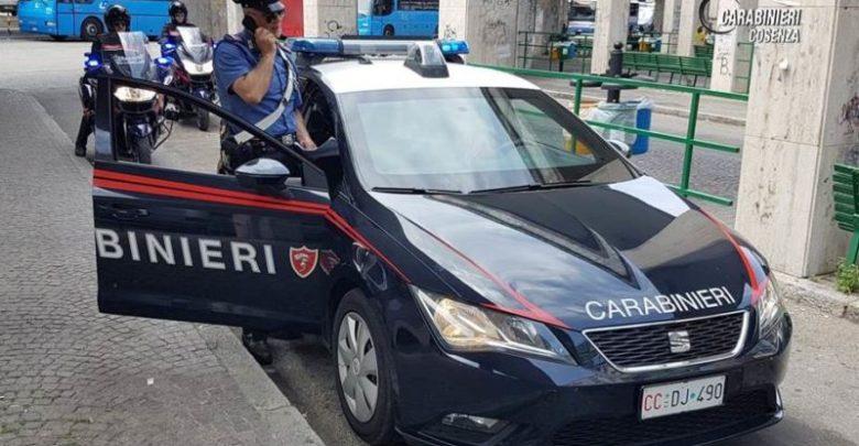Cosenza spaccio di droga arrestati minori carabinieri