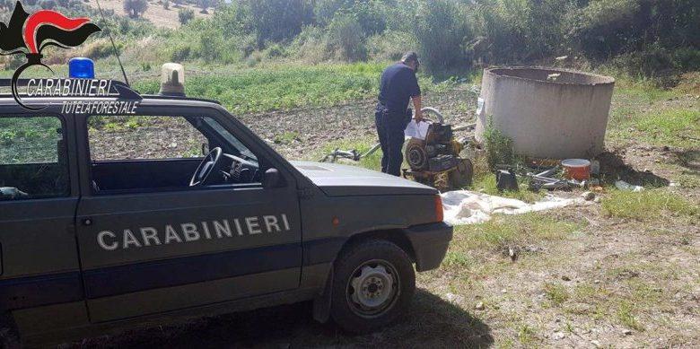 Occupazione abusiva aree demaniali: denunce e sequestri a Castroregio