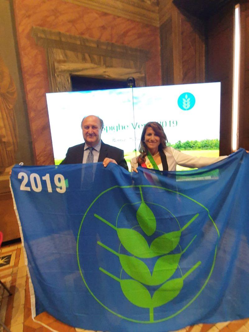 Trebisacce conquista la Bandiera Spighe Verdi 2019