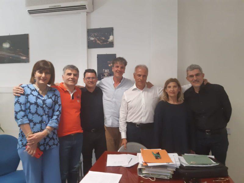 Comune di Cosenza, firmano i sei nuovi dirigenti. Occhiuto dà il benvenuto