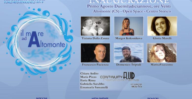 """""""Il Mare ad Altomonte apre il Festival Euromediterraneo"""