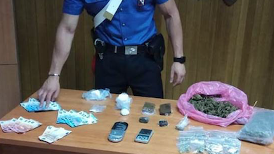 spaccio di droga san giovanni in fiore, arrestate tre persone
