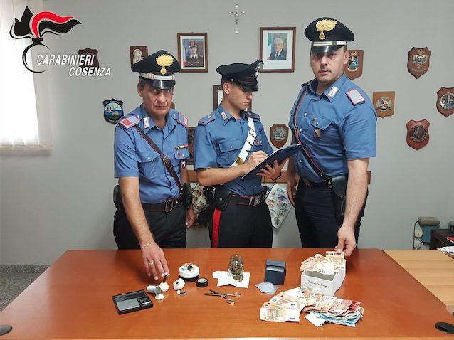 Diamante, operatore OSS arrestato per spaccio di droga