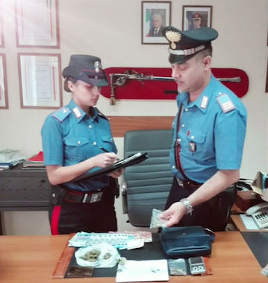 Scoperto market droga a Schiavonea blitz dei carabinieri