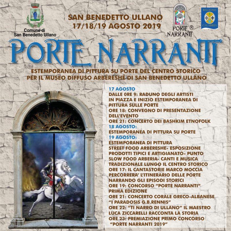 """Le """"Porte narranti"""" di San Benedetto Ullano"""
