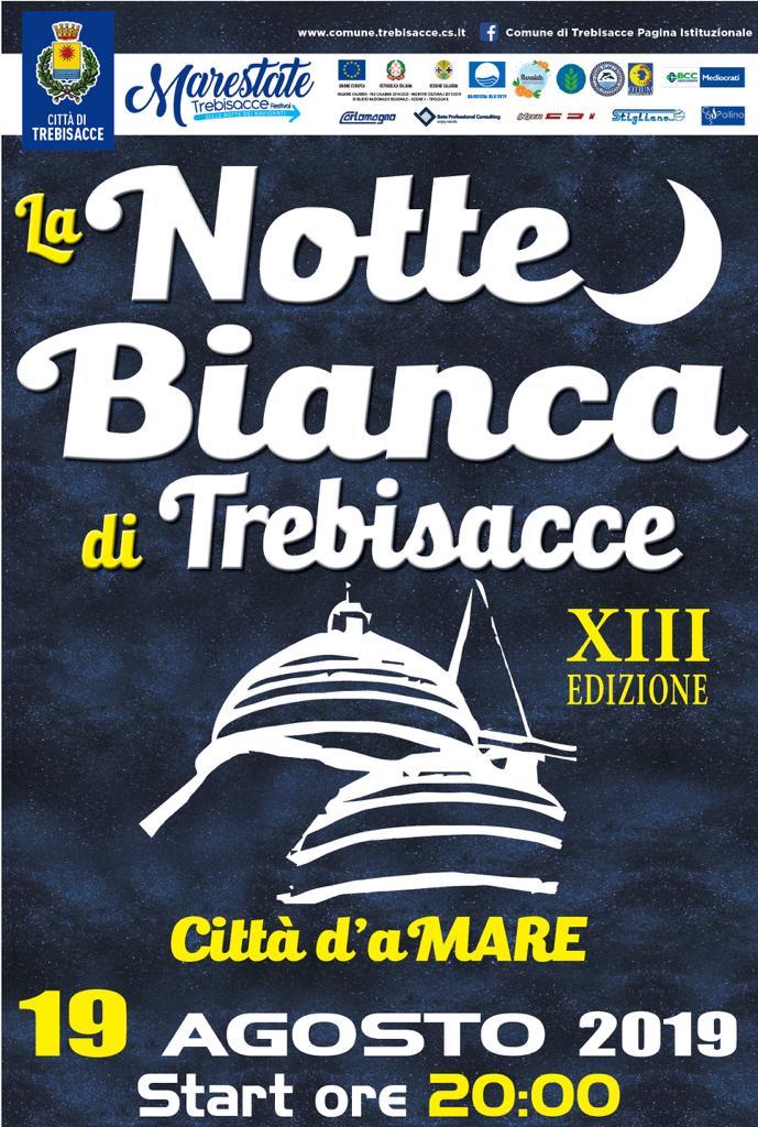 Notte bianca a Trebisacce, tutto pronto per la 13esima edizione