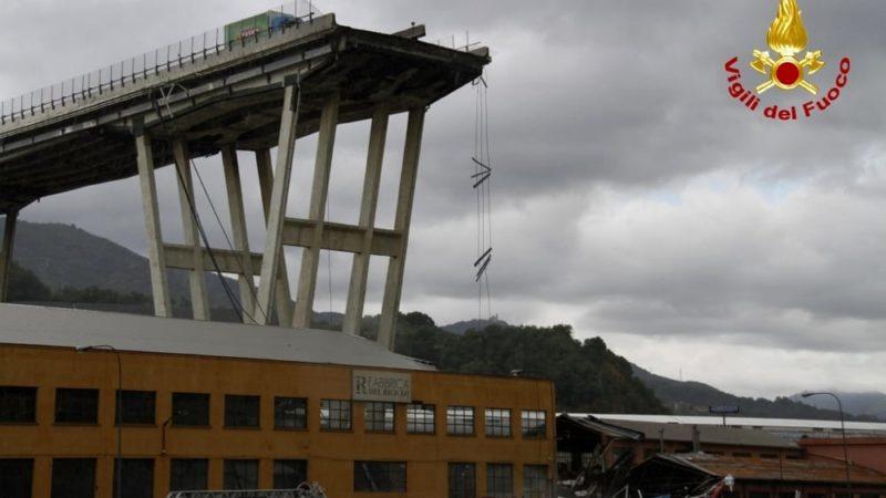 Genova, un anno fa la tragedia del Ponte Morandi