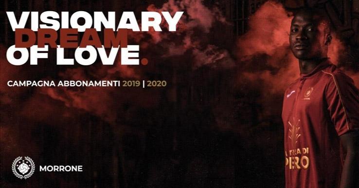 """""""Visionary dream of love"""", il sogno d'amore visionario della Morrone"""
