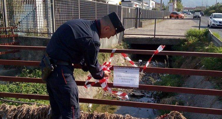 Sversamento liquami sequestro condotta Corigliano Rossano