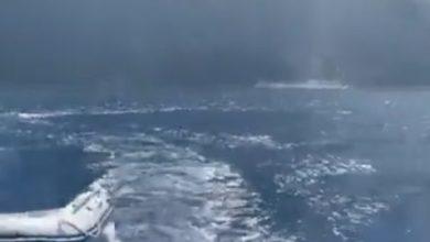Vulcano Stromboli eruzione panico mare ecco video