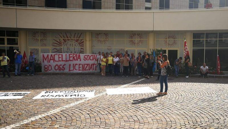 Protesta precari sanità si sposta a Catanzaro