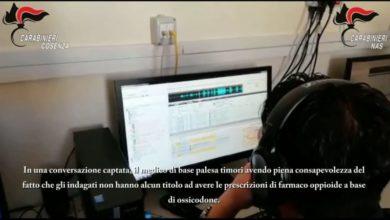 Photo of Farmaci abusivi a Cosenza, blitz dei carabinieri: le intercettazioni