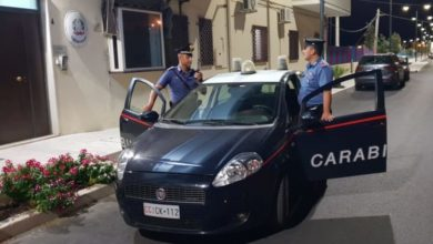 Photo of Rocca Imperiale, carabinieri sventano un incendio e arrestano un ragazzo