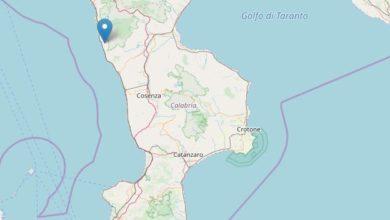 Photo of Terremoto a Diamante, scossa notturna nella Costa tirrenica cosentina