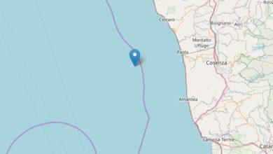 Photo of Terremoto (in mare) nella notte: sisma di 4.2 magnitudo
