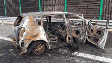 Photo of Tragedia sulla Torino-Pinerolo, morti padre e figlia: auto in fiamme
