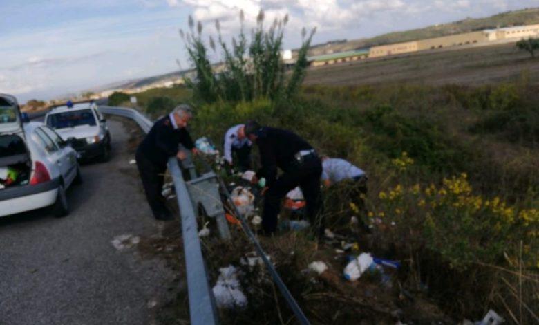 Abbandono di rifiuti a San Marco Argentano, segnalati sei trasgressori