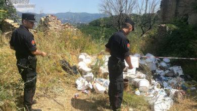 Photo of Abbandono di rifiuti speciali a Cosenza, individuati e denunciati i responsabili