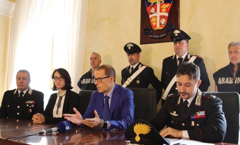 Cinque arresti a Lauropoli, blitz dei carabinieri a Cassano all'Jonio